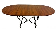Victoria Son Louis XV Style Steel Base Table - 745315