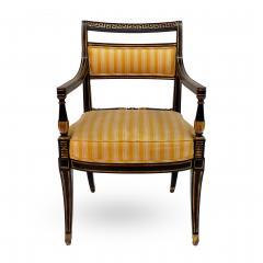 Victoria Son Regency Style Sabre Leg Armchair - 1521337