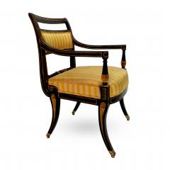 Victoria Son Regency Style Sabre Leg Armchair - 1521338