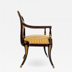 Victoria Son Regency Style Sabre Leg Armchair - 1523208