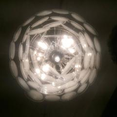 Vistosi Charming Murano Disc Chandelier by Vistosi 1970s - 665748