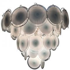Vistosi Charming Murano Disc Chandelier by Vistosi 1970s - 665749