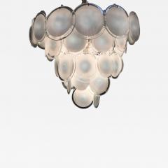 Vistosi Charming Murano Disc Chandelier by Vistosi 1970s - 665972