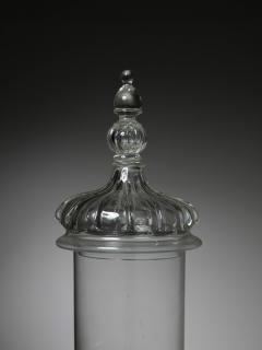 Vistosi Murano Glass Jar Attributed to Vetreria Vistosi - 1565842