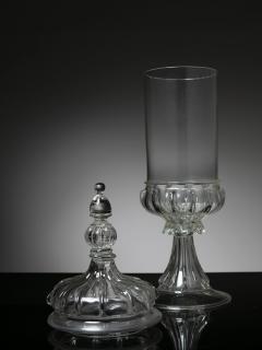 Vistosi Murano Glass Jar Attributed to Vetreria Vistosi - 1565844