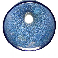 Vistosi PAIR OF BLUE COLOUR PENDANTS BY GAE AULENTI FOR VISTOSI - 1775753