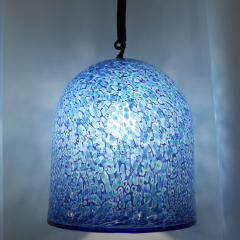 Vistosi PAIR OF BLUE COLOUR PENDANTS BY GAE AULENTI FOR VISTOSI - 1775755