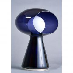 Vistosi Rare Purple Vistosi Murano Glass Table Lamp 1970s - 560181