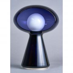 Vistosi Rare Purple Vistosi Murano Glass Table Lamp 1970s - 560182
