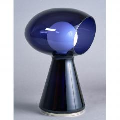 Vistosi Rare Purple Vistosi Murano Glass Table Lamp 1970s - 560185