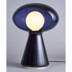 Vistosi Rare Purple Vistosi Murano Glass Table Lamp 1970s - 560186