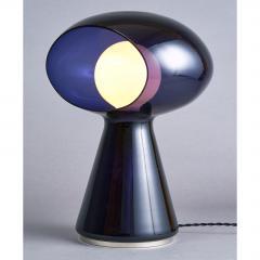 Vistosi Rare Purple Vistosi Murano Glass Table Lamp 1970s - 560187