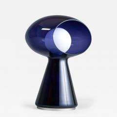 Vistosi Rare Purple Vistosi Murano Glass Table Lamp 1970s - 561233
