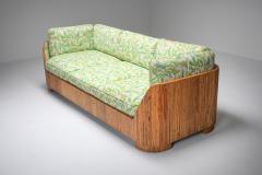 Vivai del Sud Bamboo Couch by Vivai del Sud 1970s - 1950469