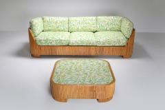 Vivai del Sud Bamboo Couch by Vivai del Sud 1970s - 1950471