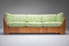 Vivai del Sud Bamboo Couch by Vivai del Sud 1970s - 1950472