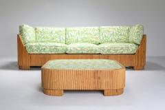 Vivai del Sud Bamboo Couch by Vivai del Sud 1970s - 1950473