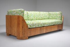 Vivai del Sud Bamboo Couch by Vivai del Sud 1970s - 1950475