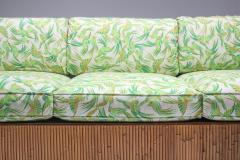 Vivai del Sud Bamboo Couch by Vivai del Sud 1970s - 1950482