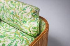 Vivai del Sud Bamboo Couch by Vivai del Sud 1970s - 1950484