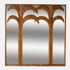 Vivai del Sud Bamboo Mirrored Screen - 1253587