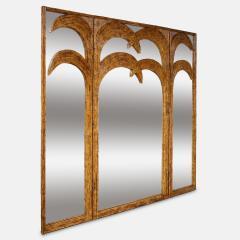 Vivai del Sud Bamboo Mirrored Screen - 1253588