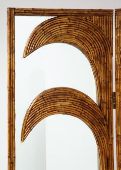 Vivai del Sud Bamboo Mirrored Screen - 1253589