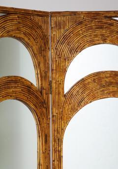 Vivai del Sud Bamboo Mirrored Screen - 1253590