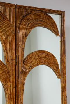 Vivai del Sud Bamboo Mirrored Screen - 1253592