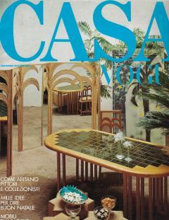 Vivai del Sud Bamboo Mirrored Screen - 1254098