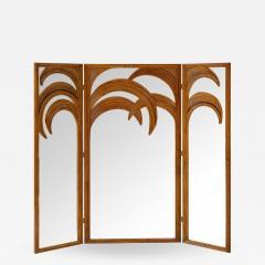 Vivai del Sud Bamboo Mirrored Screen - 1475530