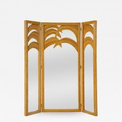 Vivai del Sud Bamboo Mirrored Screen - 1929793