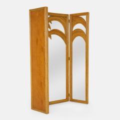 Vivai del Sud Bamboo Mirrored Screen - 1930820
