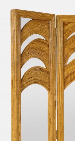 Vivai del Sud Bamboo Mirrored Screen - 1930821