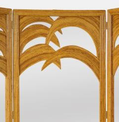 Vivai del Sud Bamboo Mirrored Screen - 1930822