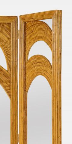 Vivai del Sud Bamboo Mirrored Screen - 1930823