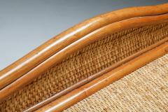 Vivai del Sud Bamboo rattan bed side tables Vivai del Sud 1970s - 1638229