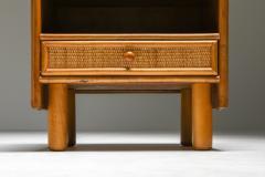 Vivai del Sud Bamboo rattan bed side tables Vivai del Sud 1970s - 1638230