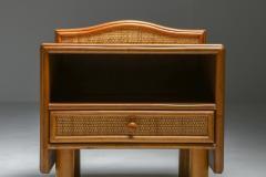 Vivai del Sud Bamboo rattan bed side tables Vivai del Sud 1970s - 1638231