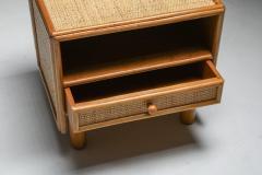 Vivai del Sud Bamboo rattan bed side tables Vivai del Sud 1970s - 1638232