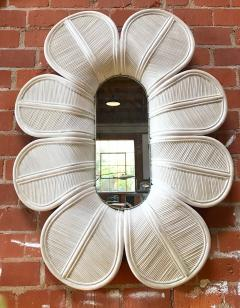 Vivai del Sud Glamorous Giant Flower Wall Mirror Italy 1960s - 889921