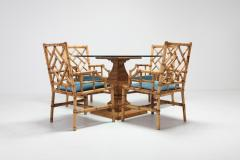 Vivai del Sud Vivai Del Sud Dining Chairs In Bamboo 1970s - 984498