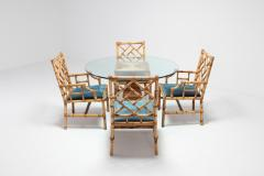 Vivai del Sud Vivai Del Sud Dining Chairs In Bamboo 1970s - 984499