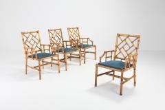 Vivai del Sud Vivai Del Sud Dining Chairs In Bamboo 1970s - 984501