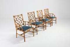Vivai del Sud Vivai Del Sud Dining Chairs In Bamboo 1970s - 984502