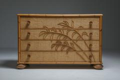 Vivai del Sud Vivai del Sud Bamboo Chest of Drawers Italy 1970s - 1691747