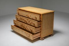 Vivai del Sud Vivai del Sud Bamboo Chest of Drawers Italy 1970s - 1691748