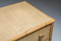 Vivai del Sud Vivai del Sud Bamboo Chest of Drawers Italy 1970s - 1691750