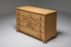 Vivai del Sud Vivai del Sud Bamboo Chest of Drawers Italy 1970s - 1691753