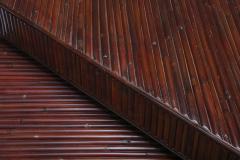 Vivai del Sud Vivai del Sud Bamboo Sliding Table 1970s - 1566284